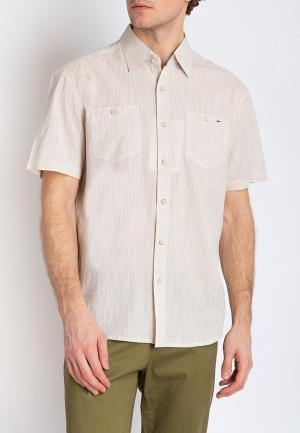Рубашка Finn Flare. Цвет: бежевый