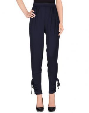 Повседневные брюки BURANI COLLEZIONI. Цвет: темно-синий