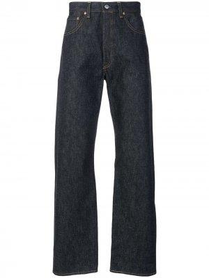 Levis Vintage Clothing 1955 wide leg 501 jeans Levi's. Цвет: синий