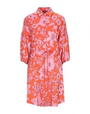 Короткое платье GUARDAROBA by ANIYE. Цвет: оранжевый