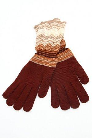 Перчатки Missoni. Цвет: коричневый