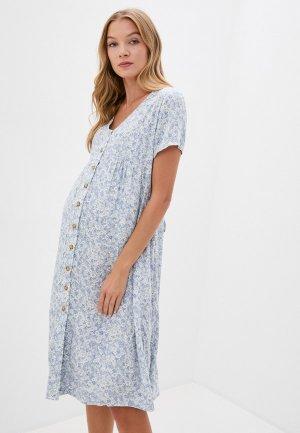 Платье Cotton On. Цвет: голубой
