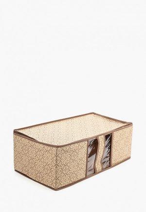 Ящик для хранения Tete-a-Tete текстильный. Цвет: бежевый