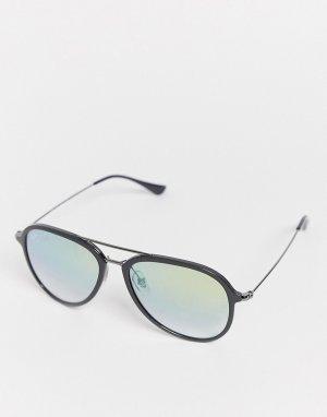 Rayban 0RB4298 aviator style sunglasses-Черный Ray-Ban