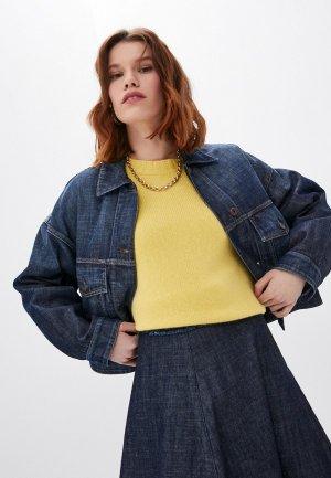 Куртка джинсовая Weekend Max Mara AMADEUS. Цвет: синий