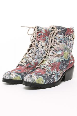 Ботинки CRISTOFOLI. Цвет: мультицвет
