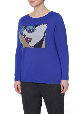 Пуловер LE FATE. Цвет: мультицвет
