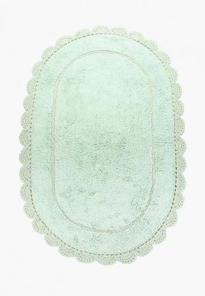 Коврик для ванной Sofi De Marko. Цвет: бирюзовый