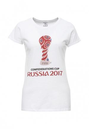 Футболка FIFA Confederations Cup Russia 2017 FI027EWUDV29. Цвет: белый