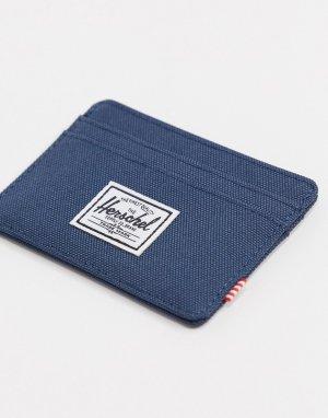 Темно-синий кошелек для карт Herschel Supply Co