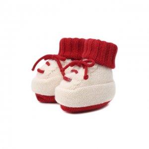 Шерстяные носки Baby T. Цвет: красный