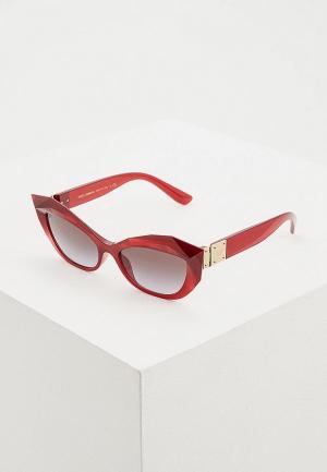 Очки солнцезащитные Dolce&Gabbana DG6123 15518G. Цвет: бордовый