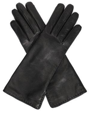 Перчатки кожаные удлиненные LORO PIANA