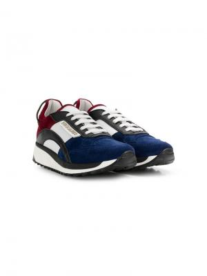 TEEN colourblock sneakers Dsquared2 Kids. Цвет: белый