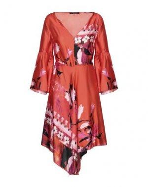 Короткое платье SISTE' S. Цвет: оранжевый