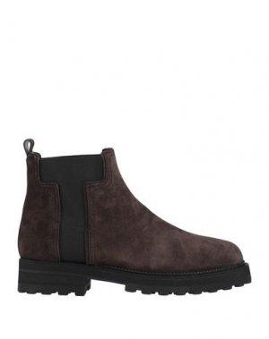 Полусапоги и высокие ботинки TOD'S. Цвет: какао