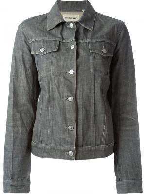 Джинсовая куртка Helmut Lang Pre-Owned. Цвет: серый