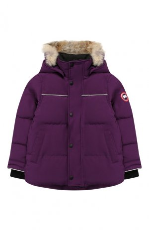 Пуховая куртка Snowy Owl Canada Goose. Цвет: фиолетовый
