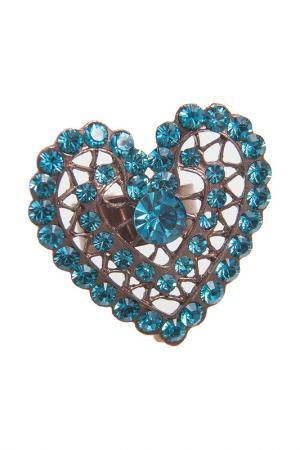 Кольцо G. Glow. Цвет: голубой