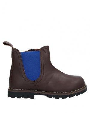 Полусапоги и высокие ботинки EUREKA. Цвет: коричневый
