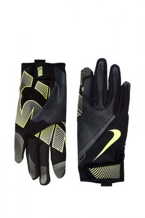 Перчатки для тренировок Nike. Цвет: черный