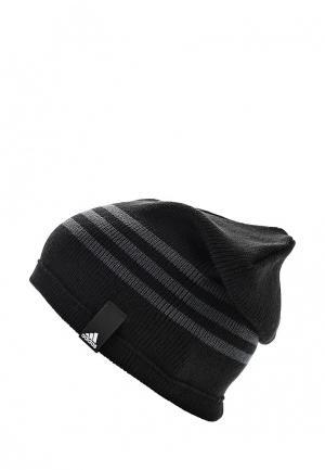 Шапка adidas TIRO BEANIE. Цвет: черный