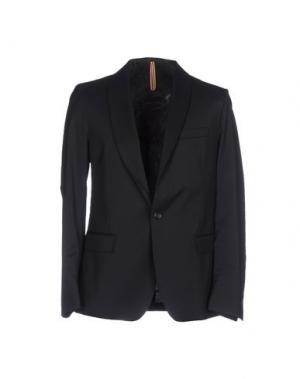 Пиджак LOW BRAND. Цвет: темно-синий