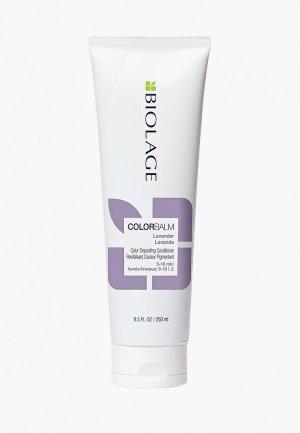 Кондиционер для волос Matrix Biolage ColorBalm обновления оттенка «Лаванда», 250 мл. Цвет: прозрачный