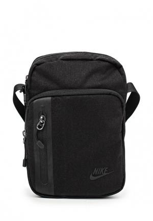 Сумка Nike MENS TECH SMALL ITEMS BAG. Цвет: черный
