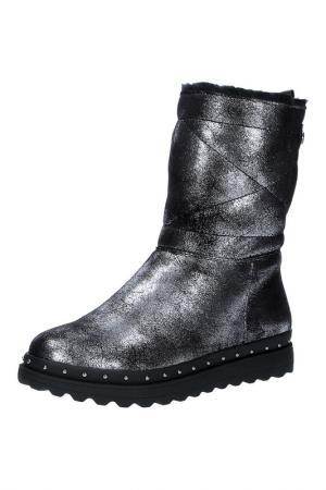 Ботинки Grand Style. Цвет: серебряный