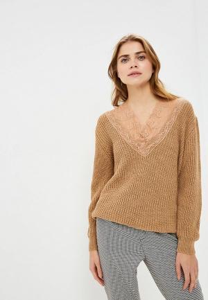 Пуловер Imperial. Цвет: бежевый
