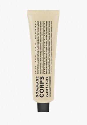 Скраб для тела Compagnie de Provence питательный, Карите/Ши, 150 мл. Цвет: прозрачный