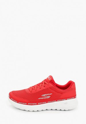 Кроссовки Skechers. Цвет: красный
