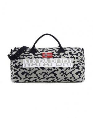 Дорожная сумка NAPAPIJRI. Цвет: серый