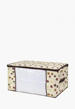 Короб для хранения El Casa. Цвет: бежевый