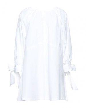 Блузка HACHE. Цвет: белый