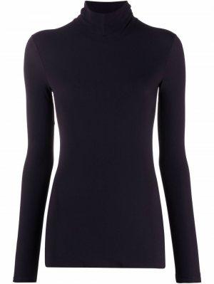Rollneck long-sleeve T-shirt Jil Sander. Цвет: синий