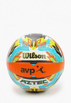 Мяч волейбольный Wilson AZTEC VB ORBLUGR. Цвет: разноцветный