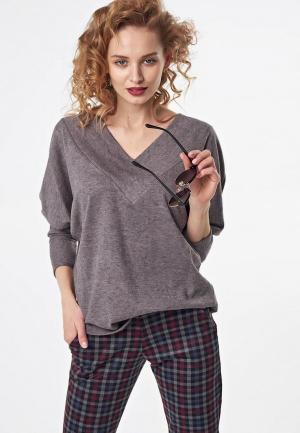 Пуловер Fly. Цвет: серый