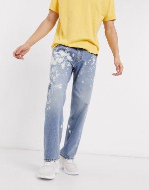 Синие джинсы с 5 карманами Levis Skateboarding-Синий SKATEBOARDING