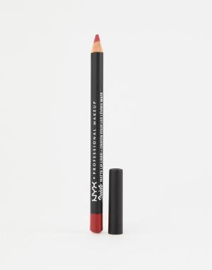 Матовые подводки для губ Suede (Spicy)-Розовый цвет NYX Professional Makeup