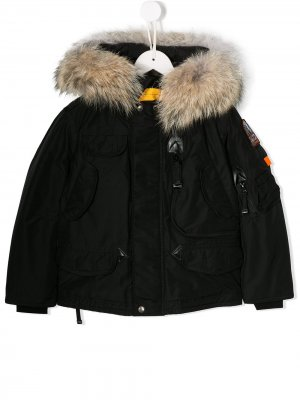 Парка Right Hand Parajumpers Kids. Цвет: черный