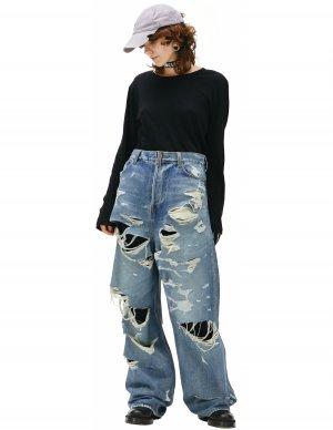 Рваные джинсы Balenciaga