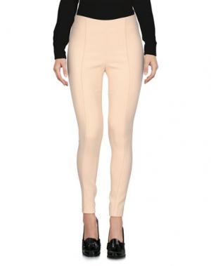 Повседневные брюки AQUILANO-RIMONDI. Цвет: слоновая кость