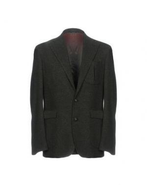 Пиджак GABO Napoli. Цвет: темно-зеленый