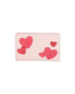 Бумажник KATE SPADE New York. Цвет: светло-розовый