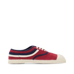 Кеды Tennis Waves BENSIMON. Цвет: бордовый