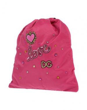 Рюкзаки и сумки на пояс DOLCE & GABBANA. Цвет: фуксия