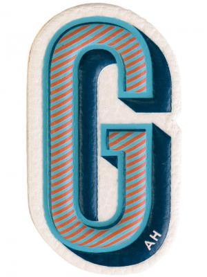 Стикер G Anya Hindmarch. Цвет: разноцветный