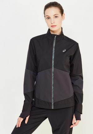 Ветровка ASICS WINDSTOPPER JACKET. Цвет: черный